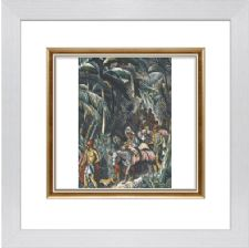 The Princess stolen by the Gypsies colour - F5 Ready Framed